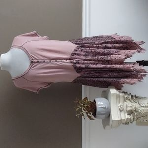 Indigo Thread Co. pink raglan style tunic
